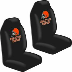 Cleveland Browns Car Seat Covers High Back Licensed Pair Uni