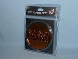 CLEVELAND BROWNS  Chrome Trailer Hitch Cover w/ Insert Brack