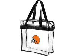 Cleveland Browns CLEAR Messenger Tote Bag Purse - Meets Stad