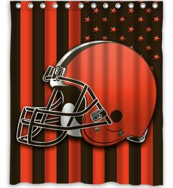 Cleveland Browns Custom Shower Curtain