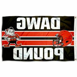 Cleveland Browns Dawg Pound Flag and Banner