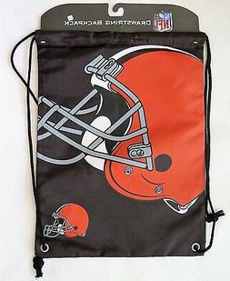 Cleveland Browns Drawstring Backpack NEW!!!