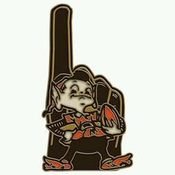 CLEVELAND BROWNS ELF BROWNIE COLLECTOR'S PIN NEW MINT CONDIT