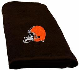 Cleveland Browns Embroidered Hand Towel measures 16 x 26 inc