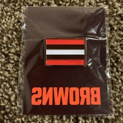 Cleveland Browns Enamel Flag Pin 2020 Season Ticket Member E