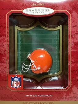 HALLMARK - CLEVELAND BROWNS Football Helmet - NFL Collection