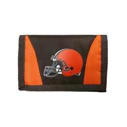 Cleveland Browns Football League Licensed Nylon Tri-Fold Cha