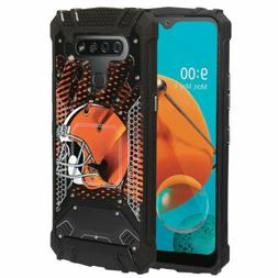 Cleveland Browns #G Aluminum Metal Armor Impact Case LG Styl