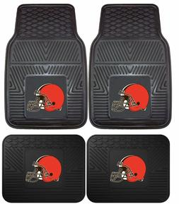 Cleveland Browns Heavy Duty Vinyl Car, Truck, SUV Auto Floor