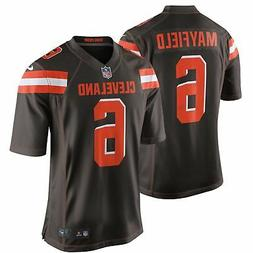 Cleveland Browns Jersey Men's Baker Mayfield #6 Nike Game Re