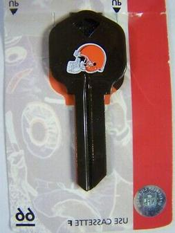 Cleveland Browns  Kwikset house key blank  KW1