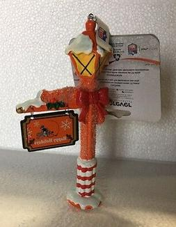 Cleveland Browns Lamp Post Christmas Holiday Ornament - FREE