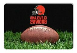 Cleveland Browns Large Pet Bowl Mat  NFL Dog Treat Food Wate