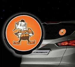 Cleveland Browns Light-Up Power Decal  NFL Car Auto Night Li