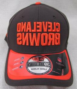 CLEVELAND BROWNS Men's New Era 39Thirty Stretch Fit Licensed