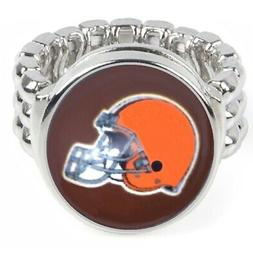 Cleveland Browns Men's Women's Ring Fits All Sizes w Gift Pk