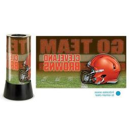 """Cleveland Browns NFL Wincraft 12"""" High Rotating Lamp FREE SH"""
