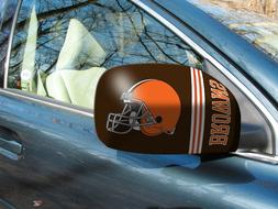 Cleveland Browns NFL Car/Truck Mirror Covers - Size: Small