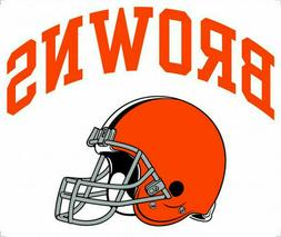 Cleveland Browns NFL Color Die-Cut Decal / Sticker *Free Shi