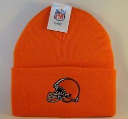Cleveland Browns NFL Cuffed Knit Hat Orange