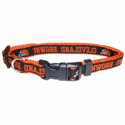 CLEVELAND BROWNS NFL Dog Pet Collars Single-Sided