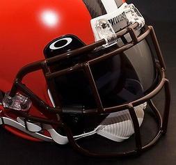 CLEVELAND BROWNS NFL Schutt EGOP Football Helmet Facemask/Fa