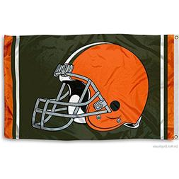 Cleveland Browns Large NFL 3x5 Flag
