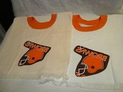 Cleveland Browns NFL Football Handmade/Tea Towel Children's/