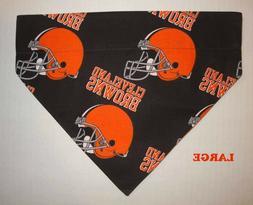 Cleveland Browns NFL Football Over Collar Slide On Pet Dog C