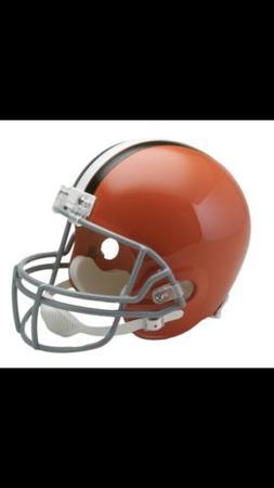 CLEVELAND BROWNS  NFL FULL SIZE REPLICA FOOTBALL HELMET