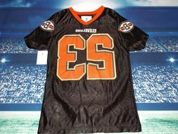 Cleveland Browns NFL Jersey, Lots of BLING!, Girl's Size 3T,
