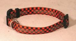 Cleveland Browns NFL Licensed XS Dog/Cat Pet Collar NEW FREE
