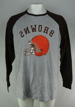 Cleveland Browns NFL Majestic Men's Long Sleeve Shirt