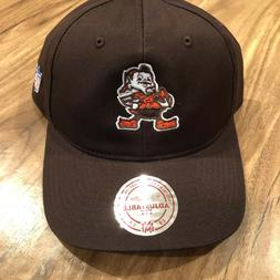 Cleveland Browns NFL Mitchell & Ness Adjustable Slouch Hat