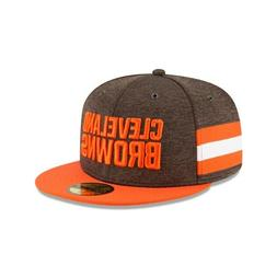 Cleveland Browns NFL On-Field New Era 59FIFTY Fitted Hat - B