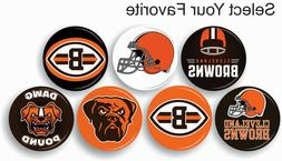 """Cleveland Browns NFL Pin Pinback Button 1 .25"""" Collectible S"""
