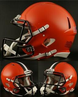 CLEVELAND BROWNS NFL Riddell SPEED Full Size Replica Footbal