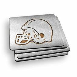 Cleveland Browns NFL Stainless Steel Sportula Boasters - Set