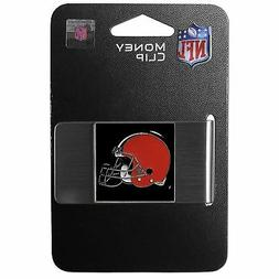 Cleveland Browns NFL Stainless Steel Money Clip