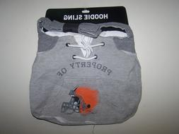Cleveland Browns NFL Team Hoodie Sling Tailgate Tote Bag Pur