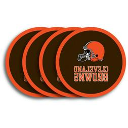 Cleveland Browns NFL Vinyl Coasters , FREE SHIPPING