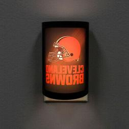 Cleveland Browns Night Light Light Sensing