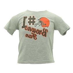 Cleveland Browns NFL Team Apparel Official Infant Toddler T-
