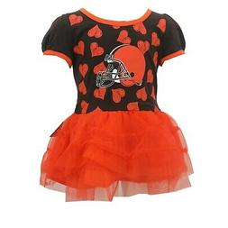 Cleveland Browns Official NFL Apparel Baby Infant Size Dress