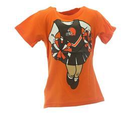 Cleveland Browns Official NFL Infant Toddler Girls Size T-Sh
