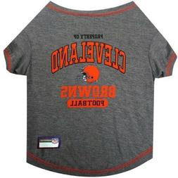Cleveland Browns Officially Licensed NFL Dog Pet Tee Shirt,