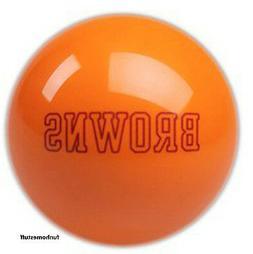 cleveland browns orange team billiard game pool