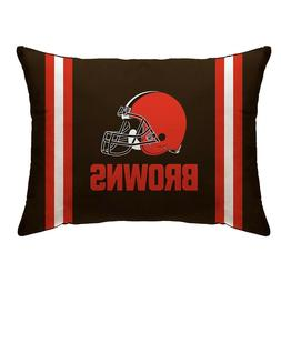 Cleveland Browns Plush Bed Pillow NFL Football Team Bedroom