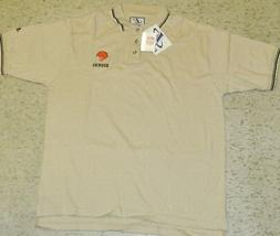 Cleveland Browns Polo Shirt Large New w Tags Logo Athletic N