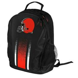 cleveland browns prime time striped backpack